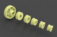 Motonica P81/P8F Kevlar pulleys