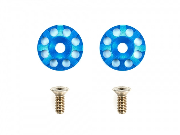 Aluminum Wing Washers (Blue)